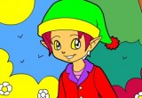 Lösung Fairy Boy Ausmalen