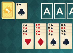 Solitär Kostenlos Online Spielen Solitaire Das Kartenspiel