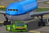 Flugzeug parken