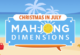 Mahjong Dimensions Christmas in July