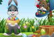 Ostern Puzzle Kinder