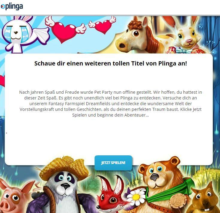 pet party online