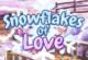Schneeflocken Liebe