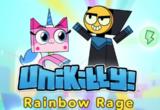 Unikitty Rainbow Rage
