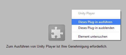 Unity Player Hilfe 2
