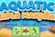 Unterwasser Triple Mahjong