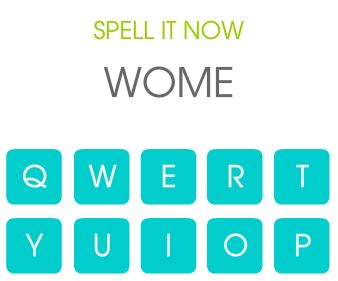 Wörter Spiele